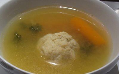 Matzah ball soup (CC BY-ND Eden Hensley Silverstein/Flickr)