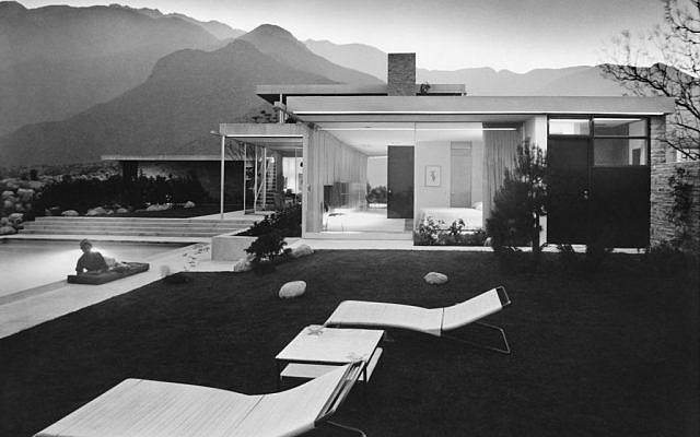 Julius Shulman, Kaufmann House designed by Richard Neutra (Palm Springs, CA), 1947. Gelatin silver print. Julius Shulman Photography Archive, Research Library at the Getty Research Institute. Copyright © J. Paul Getty Trust.