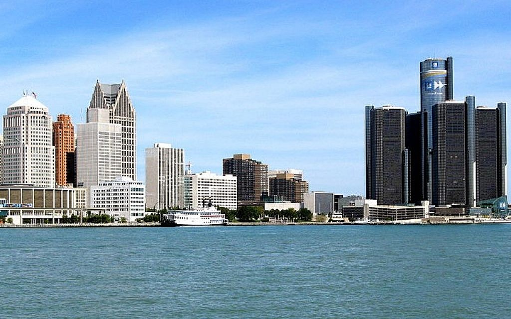 The Detroit skyline. (Andrea_44/Wikimedia Commons/File)