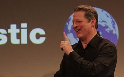 Former US vice president and environmental activist Al Gore in March 2008. (Photo credit: CC BY 2.0, Erik Charlton from Menlo Park, USA/Wikimedia)