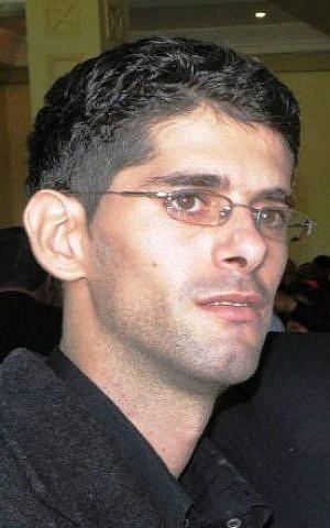 Druze writer and activist Alaa Muhanna photo credit: courtesy)