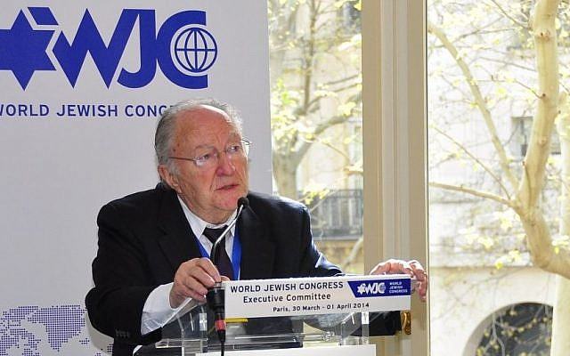 Roger Cukierman, president of the umbrella group for France's Jewish organizations (photo credit: courtesy World Jewish Congress/JTA)