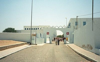 The El-Ghriba Synagogue in the island of Djerba, Tunisia (Photo credit: CC-BY upyernoz/Wikimedia commons)
