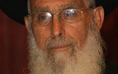 Rabbi Yaakov Ariel, chief rabbi of Ramat Gan, in August 2010. (photo credit: Kobi Gideon/Flash90)