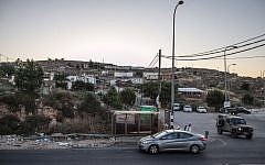 View of the Givat Assaf outpost, located near the Jewish settlement of Beit El in the West Bank, June 05, 2012. (photo credit: Noam Moskowitz/FLASH90)