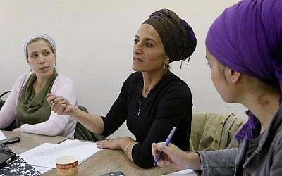 "Orthodox Jewish women attend a ""Mashgiach"" course at the Faith Seminary College for Jewish Women's Studies in Jerusalem. (photo credit: Miriam Alster/Flash90/File)"