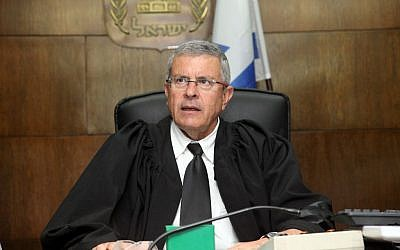 Tel Aviv District Court judge David Rozen (photo credit: Gideon Markowicz/POOL/Flash90)