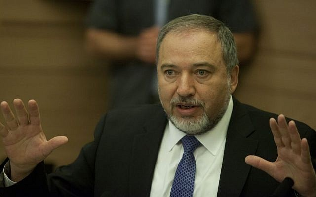 Foreign Minister Avigdor Liberman in May. (photo credit: Flash90)
