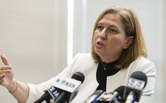 Justice Minister Tzipi Livni. (photo credit: Flash90)