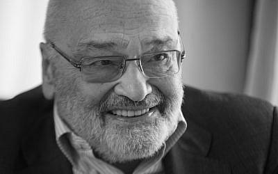Executive George Weisz also voices Rabbi Leo Baeck. (courtesy)