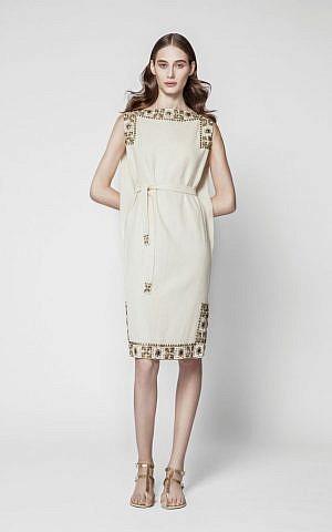 The refigured Maskit tunic dress (Courtesy Maskit)
