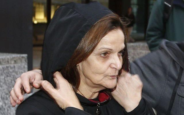 Rasmieh Yousef Odeh (photo credit: AP/Charles Rex Arbogast, File)