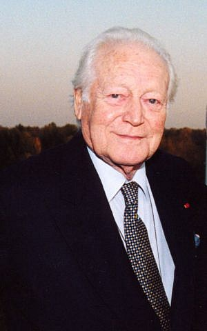 Maurice Druon, the French Jewish author who provided the original inspiration for Game of Thrones. (photo credit: Wikipedia)