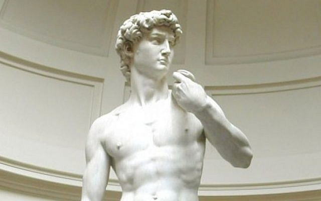 Michelangelo's 'David' (Photo credit: CC-BY-SA David Gaya/Wikimedia commons)
