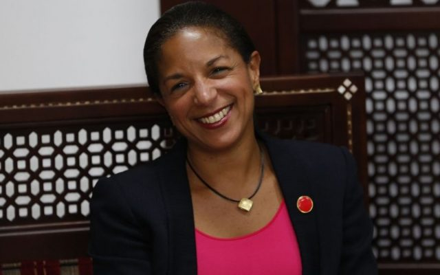 US National Security Adviser Susan Rice, May 8, 2014. (Photo credit: AP/Mohamad Torokman, Pool)