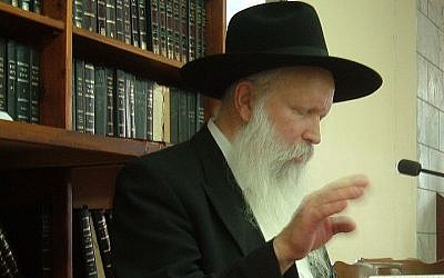 Rabbi Yitzchak Ginsburgh (photo credit: Melamed/Wikipedia)