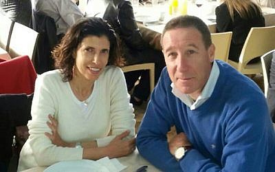 Mira and Emanuel Riva, the Israeli couple killed in the terror attack on the Brussels Jewish Museum on May 24 (photo credit: Courtesy)