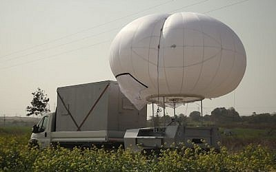 The SkyStar 180 balloon by RT Technologies (Photo credit: Courtesy)