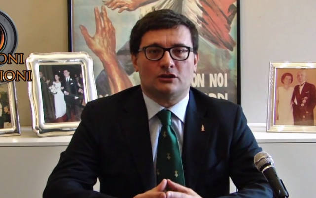 Roberto Jonghi Lavarini (photo credit: YouTube screenshot)
