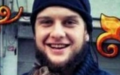 'Abu Hurayra al-Amriki' (photo credit: YouTube screenshot)