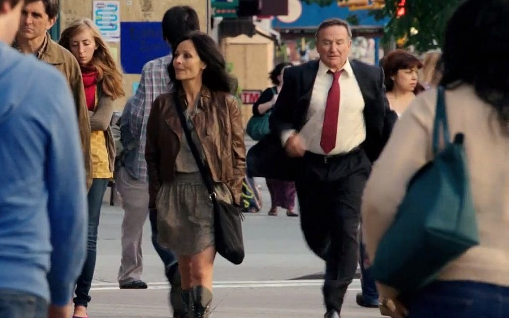 Robin Williams stars in The Angriest Man in Brooklyn, a remake of an Assi Dayan movie (Courtesy The Angriest Man in Brooklyn)
