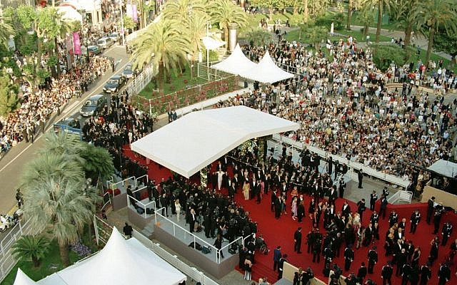 The sprawling red carpet at Cannes. (courtesy)