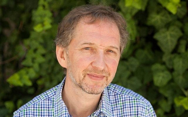 Founder and editor-in-chief of The Times of Israel, David Horovitz (Times of Israel)