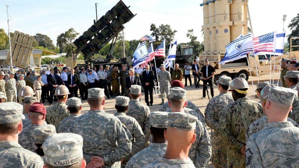 Uprostřed rostoucího napětí s Íránem otvírají USA trvalou vojenskou základnu v Izraeli