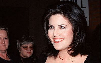 Former White House intern Monica Lewinsky at a Los Angeles premiere in 1999  (photo credit: Monica Lewinsky image via Shuttershock.)