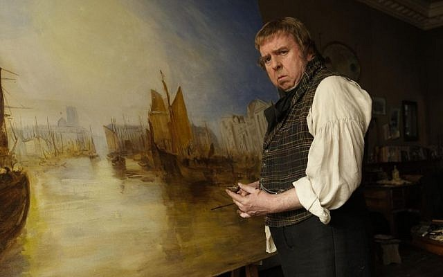 Anglo-Jewish auteur Mike Leigh's 'Mr. Turner' was entered in the big guns competition. (courtesy)