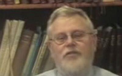 Rabbi Barry Starr (YouTube screenshot)