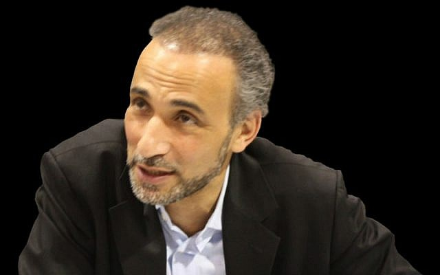 Oxford University professor Tariq Ramadan (Wikimedia Commons/Joshua Sherurcij)
