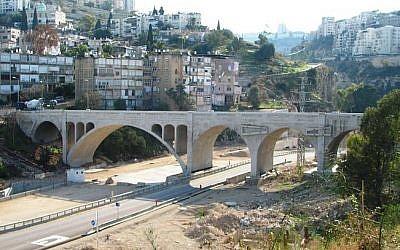 A section of Rushmiya valley in Haifa (Photo credit: CC-BY-SA Hanay/Wikipedia)