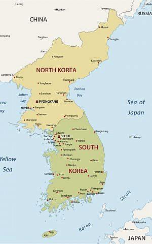Korean Peninsula (Korean Peninsula via Shutterstock)