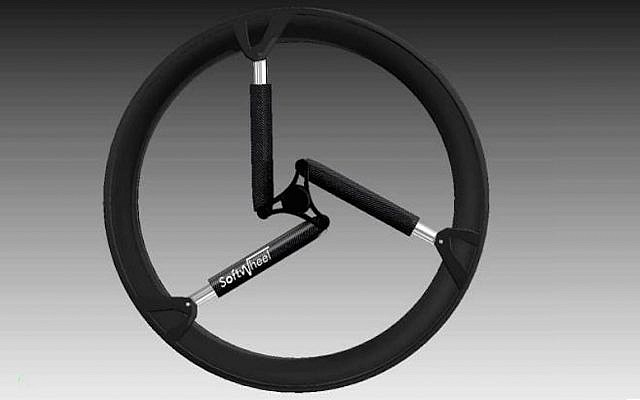 A SoftWheel wheel (Photo credit: Courtesy)