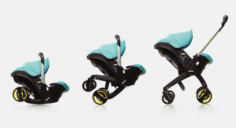 Car seat stroller takes on travel woes | The Times of Israel