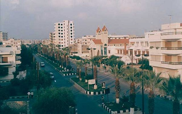 Panorama of Tartus, Syria. (photo credit: CC BY Wikipedia)
