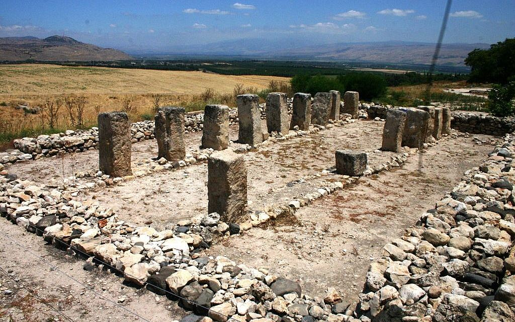 The storerooms at Tel Hatzor (photo credit: Shmuel Bar-Am)