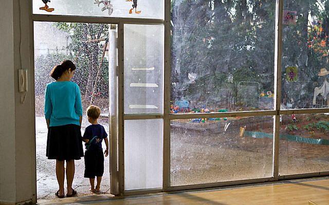 Nadav Lapid's 'The Kindergarten Teacher' (courtesy)