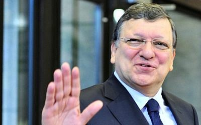 Head of the European Commission Jose Manuel Barroso (Photo credit: Georges Gobet/AFP)