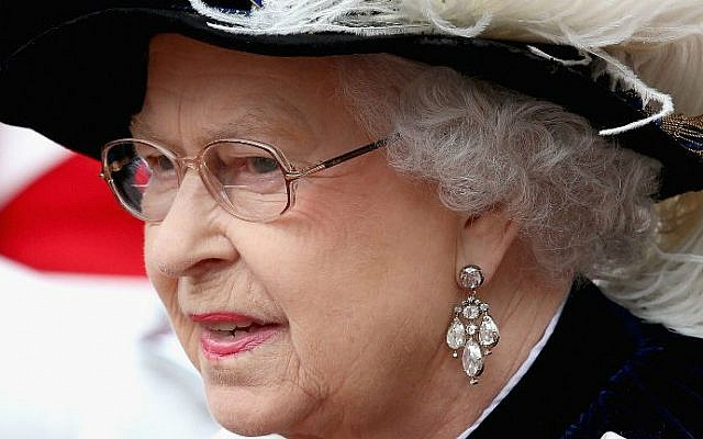 Britain's Queen Elizabeth II. (photo credit: AFP/Chris Jackson)