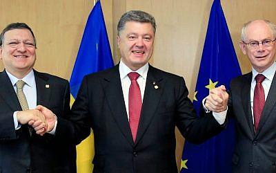 Ukraine's President Petro Poroshenko. (AP Photo)