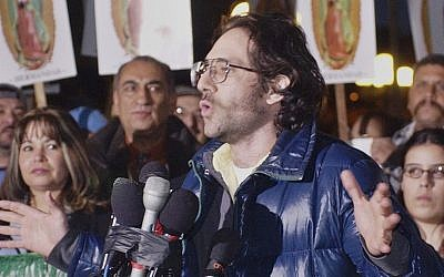 Dov Charney in 2003. (photo credit:AP/Reed Saxon, File)