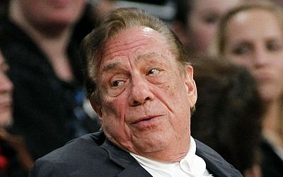 LA Clippers owner Donald Sterling (photo credit: AP/Danny Moloshok/File)