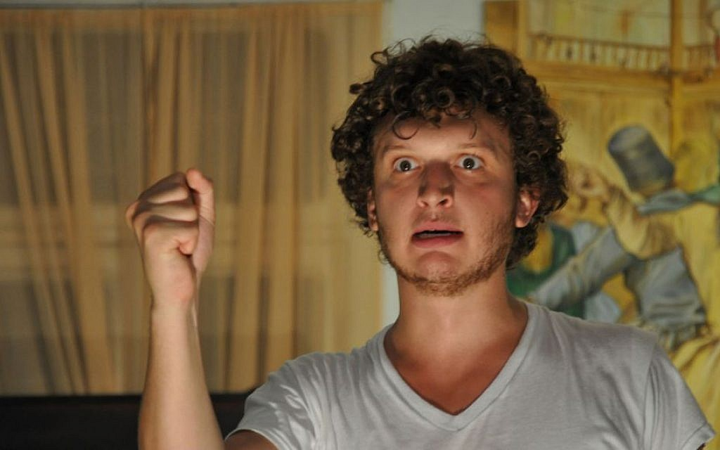 Clayton Fox in a Jaffa production of 'The Iliad' (Chen Sharon)