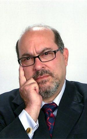 Hillel International's chief administrative officer David Eden (courtesy)