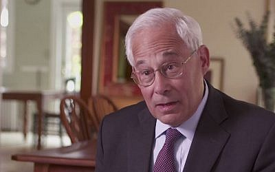 Don Berwick, Democratic candidate for governor of Massachusetts, June 2014. (screen capture: YouTube/Don Berwick for Governor)