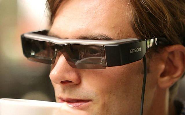 Epson Moverio glasses (Photo credit: Courtesy)