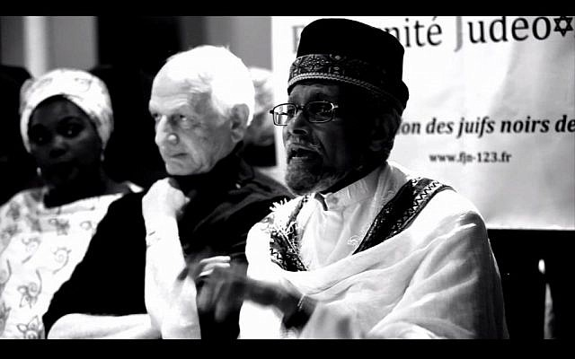 Scene from 'Being Jewish and Black in France' (courtesy)