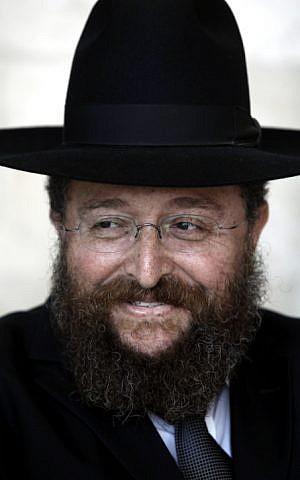 Rabbi Yoav Ben Tzur, head of the Maayan educational institutions. September 01, 2011. (photo credit: Uri Lenz/Flash90)
